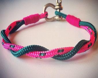 Intracciata nautical rope bracelet for men and women