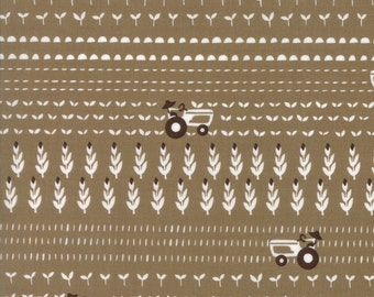 Farm Fun yardage by Stacy Ies Hsu for Moda Fabrics. 20535 18 Chocolate Milk
