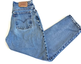 Vintage 90s Levi's 550 Jeans Distressed High Waist