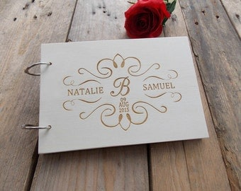 "Wedding guestbook ""Letter"""