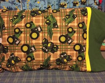 John Deere Tractor Farm Pillowcase