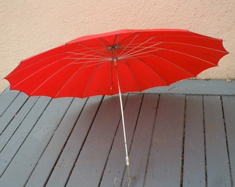 Gorgeous 1950s Umbrella