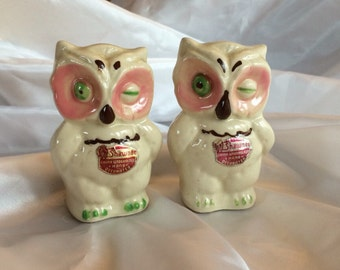 1950's Owl Salt &Pepper Shakers
