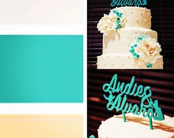 Weeding cake toppers: Custom