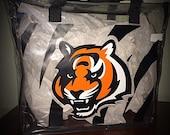 Cincinnati Bengals Themed Stadium Totes