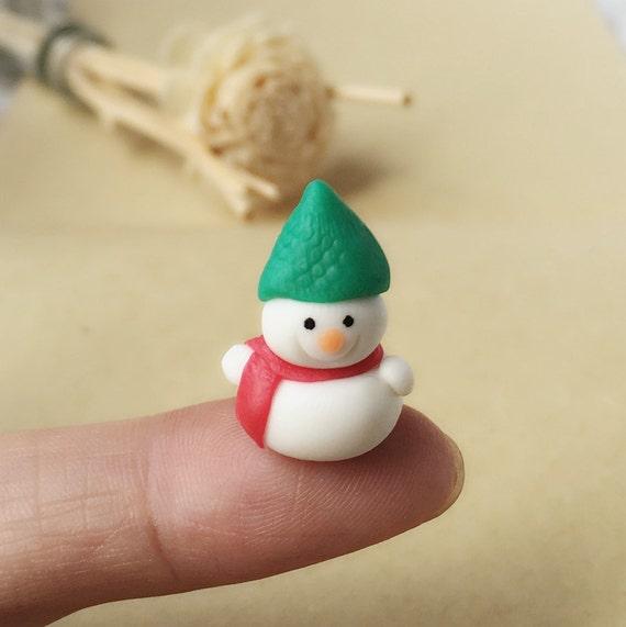 Miniature Snowman,Miniature Christmas,Miniature Santa Dolls,Miniature Dolls,Miniature Handmade,Christmas ,Xmas,Doll and Miniature,DIY