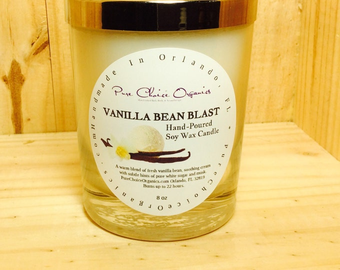 Featured listing image: Vanilla Bean Blast Soy Wax Candles Holiday Gift BOGO Sale! Buy2 Get1