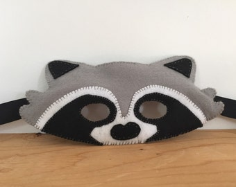 Felt Raccoon Mask