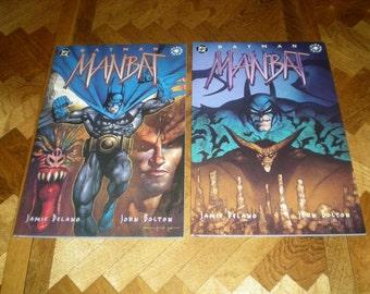 Batman Manbat TBP 2, 3, (1995), DC Elsewhere Comics B03