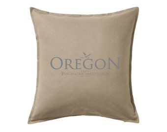 One Flew Over The Cuckoos Nest: Oregon State Institution Cushion