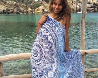 Mandala pareo  or sarong for beach and home