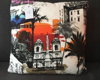 Funky Italian Rimini City Cushion