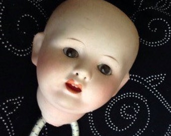 Antique Character Doll Head