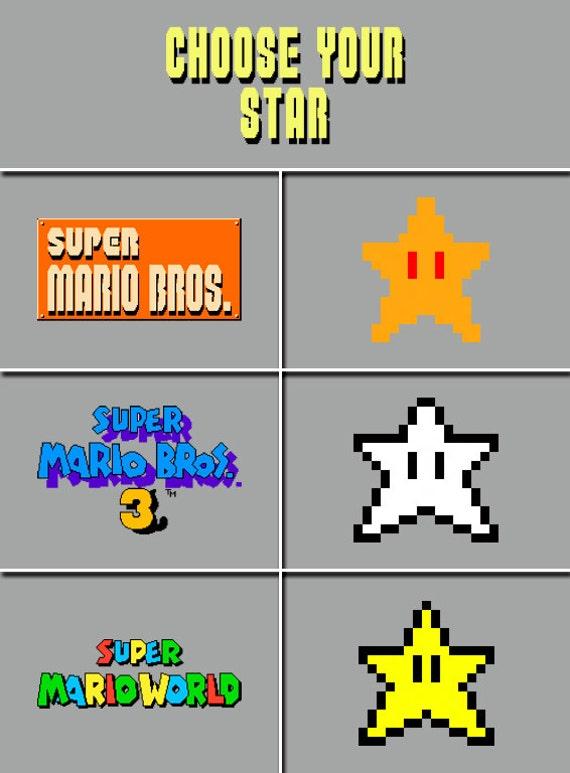 Mario Pixel Star Power Www Pixshark Com Images