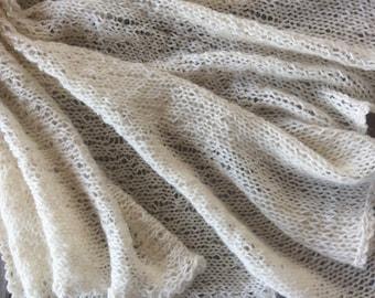 Baby alpaca baby blanket