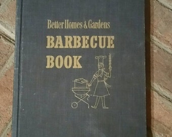 Vintage 1956 Better Homes & Gardens Barbecue Book