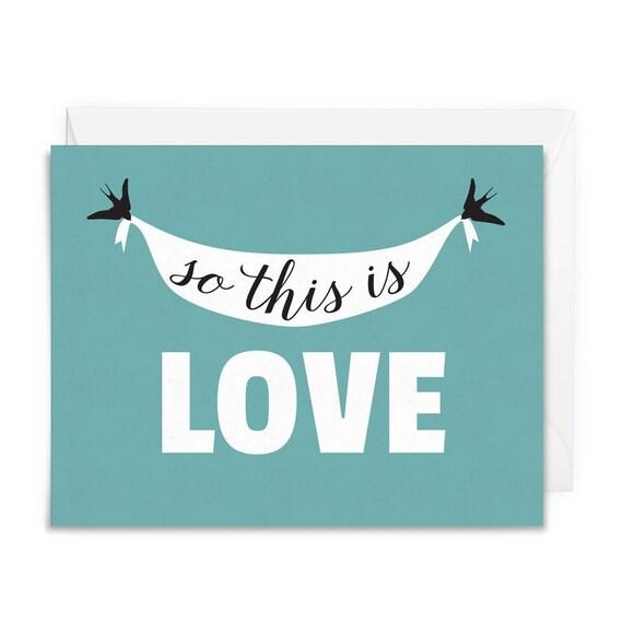 fairytale wedding card anniversary greeting card for