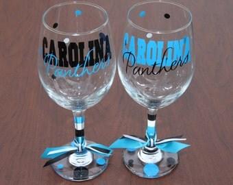 Carolina Panthers Glassware