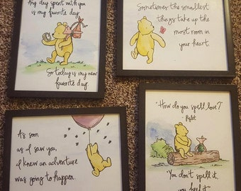 Winnie the Pooh Watercolors