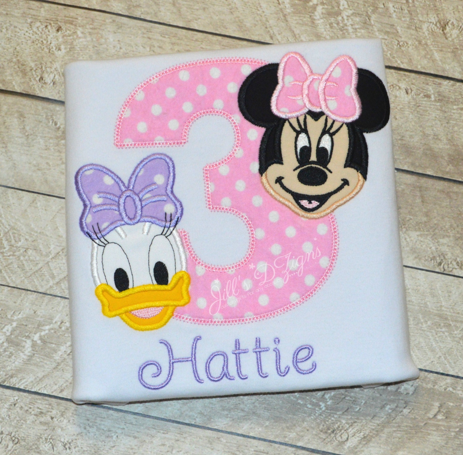 Disney Minnie Mouse and Daisy Duck Birthday Onesie or Shirt