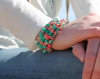 Cowgirl wrap bracelet