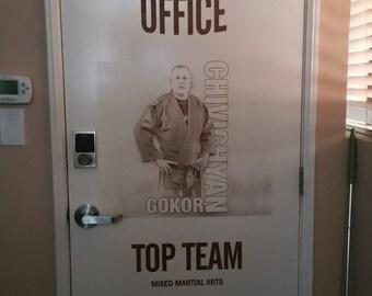 Personalized Interior door