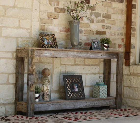 Rustic Sofa Tables For Sale