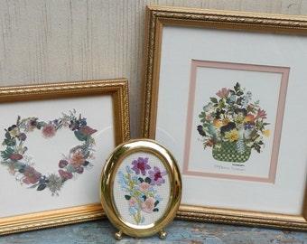 Pretty Cottage Chic Floral Trio!