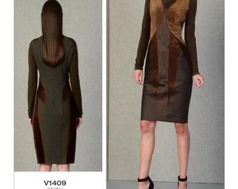 Vogue Sewing Pattern V1409 Misses' Dress