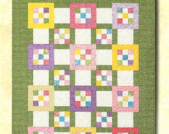 Sale TILE TANGO Quilt Pattern by Atkinson Designs Throw Twin Queen King Pieced Easy!