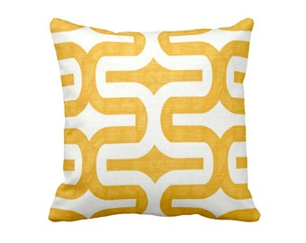 SALE | 50% OFF: 18x18 Pillow Cover Yellow Pillow Cover Yellow Throw Pillow Covers Geometric Pillows Decorative Pillows for Bed Pillows