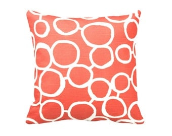 SALE | 50% OFF: 22x22 Pillow Cover Decorative Throw Pillow Covers Orange Pillow Orange Accent Pillows Cushion Covers