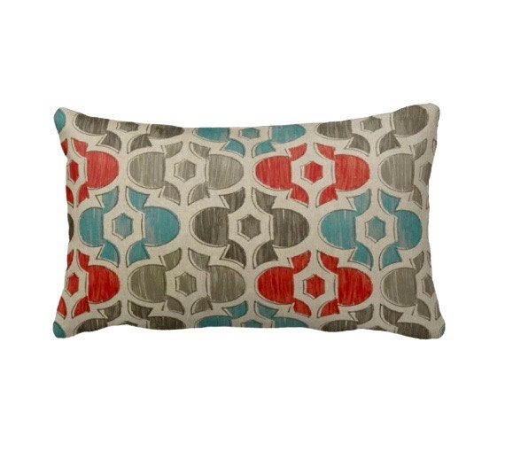 Blue Throw Pillow Covers Beige Pillows Coral Pillows Blue