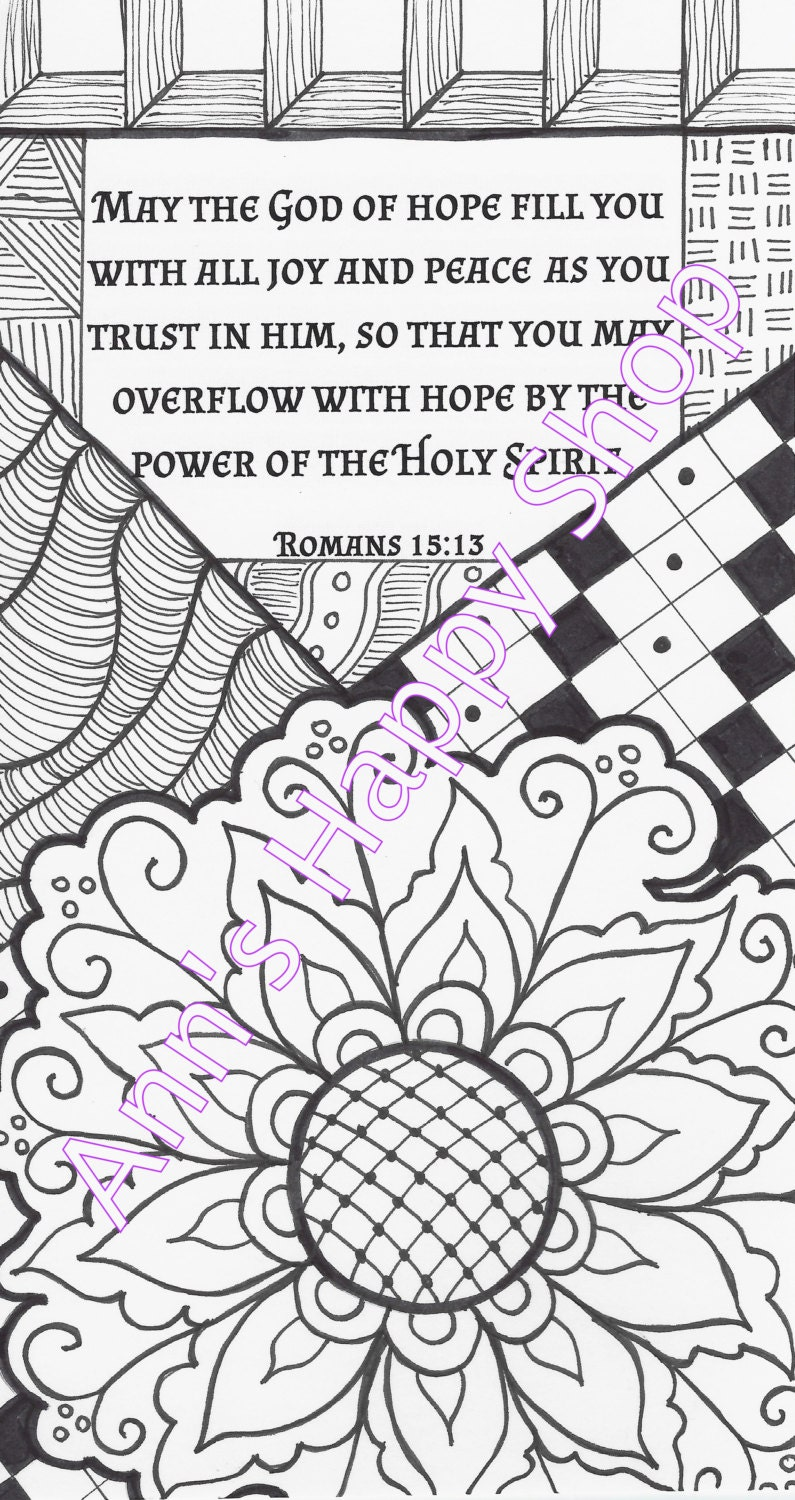 bible memory verse coloring pages - photo#17