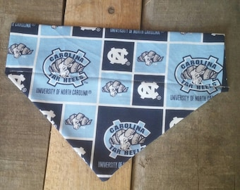 North Carolina Tar Heels dog bandana, Tar Heel dog bandana, North Carolina bandana, Tar Heels dog bandana, Tar Heels bandana, dog gifts
