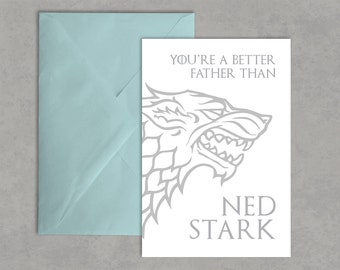 Game of Thrones Card   Funny Game of Thrones Card   Funny Him Men Husband   Funny Card for Father   Funny Card for Husband   Game of Thrones