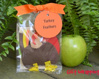Turkey Feathers Flannel Board Story