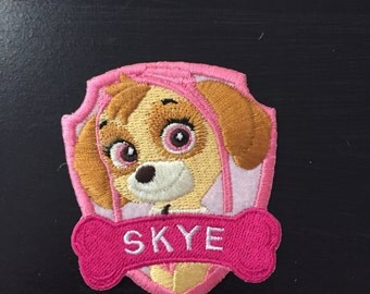 Ready to ship Skye from Paw Patrol patch