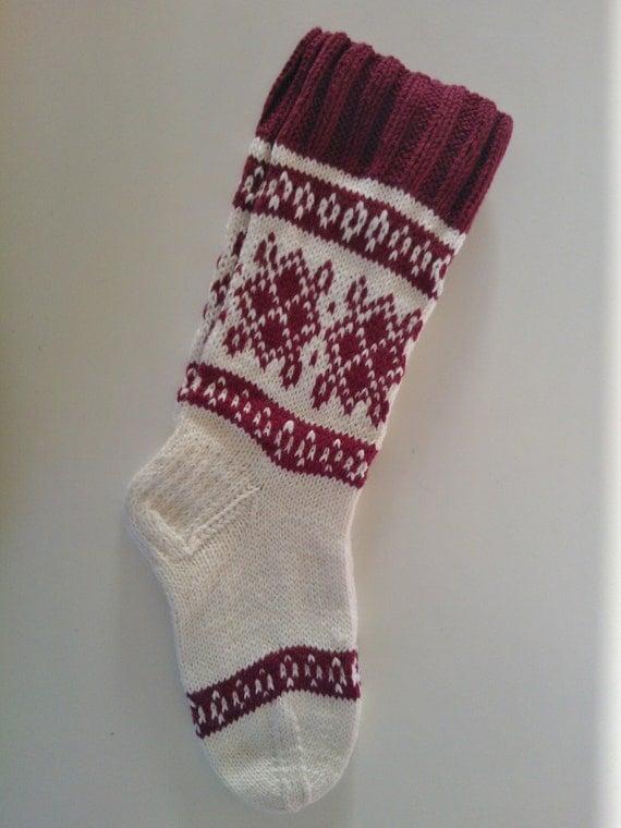 Knitting Pattern For Cashmere Socks : Hand Knitted Socks Merino wool cashmere polyamide yarn
