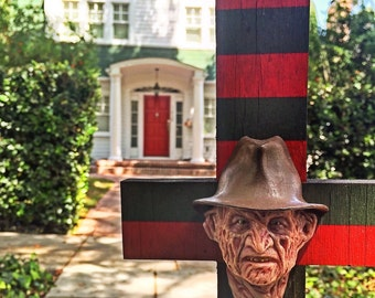 Custom Nightmare on Elm Street Freddy Krueger Wall Display