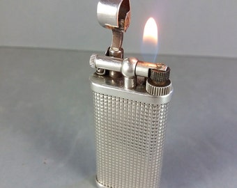 RARE!! Dunhill Unique 1992 Lighter #345010 Made in England Case & Booklet