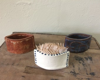 Ceramic Toothpick Holder