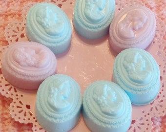 Cameo decorative guest soaps