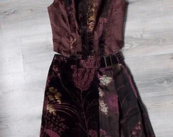 whole skirt + top sleeveless Kenzo