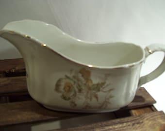 Antique Wedgwood Semi Porcelain Creamer,Gravy Boat