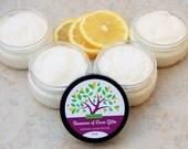 Lemon Scrub - Sugar Scrub Favors - Sugar Scrub - Body Scrub - Nurses Gift - Sugar Scrubs  - Foot Scrub - Exfoliating Scrub - Hand Scrub