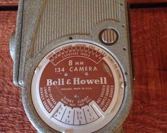 Vintage Bell and Howell 8mm 134 Camera
