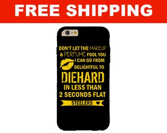2 Seconds Flat Steelers iPhone Case