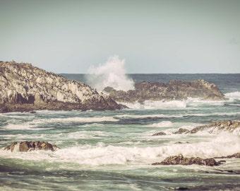Ocean Print Ocean Art Beach Decor Nature Print Seascape Art Print Ocean Waves Ocean Photography Nautical Photography
