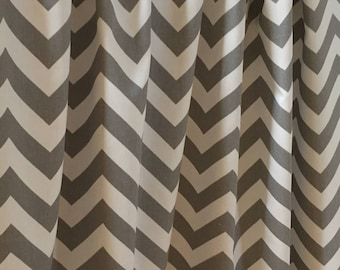 Nautical Navy Blue and White Panel Curtains 24 width by Omniss
